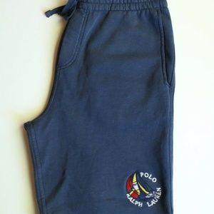 Polo RL Vintage CP93 Sailboat Navy Shorts Men's L
